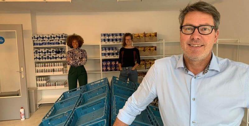 Nico van Splunter is coördinator van weggeefwinkel Yess! in Bospolder-Tussendijken